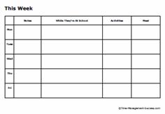 simple weekly time sheet