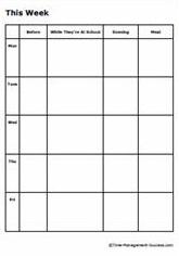 ... Weekly Calendar Monday Through Friday | Calendar Template 2016