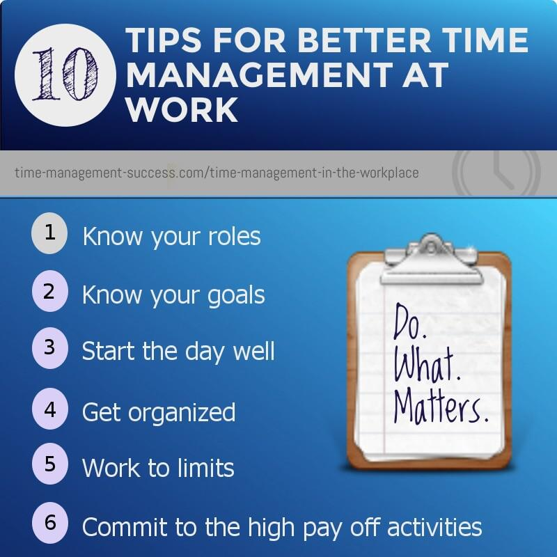 Time Management In The Workplace How To Run Your Day